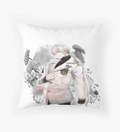Zen +quote Throw Pillow