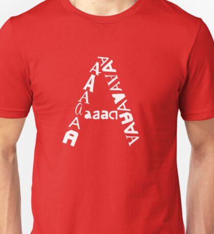 found letters - A Unisex T-Shirt