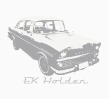 EK/FB Holden (Grey) Kids Tee