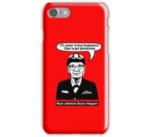 Grace Hopper iPhone Case/Skin