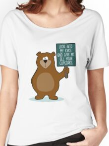 Look into my Eyes | Katz & Tinte Women's Relaxed Fit T-Shirt
