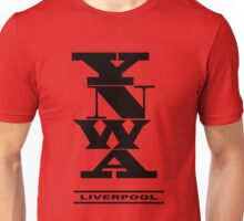 YNWA - Liverpool - The Reds - You'll Never Walk Alone Unisex T-Shirt