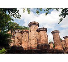 Po Nagar Cham Towers Buddhist Temple. Photographic Print