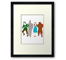 We're Off To See The Wizard! Framed Print