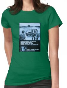 Two-Lane Blacktop Womens Fitted T-Shirt