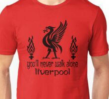 Youl'll Never Walk Alone - Liverpool - The Reds - YNWA Unisex T-Shirt