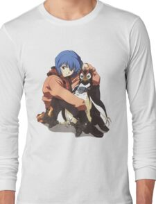 Neon Genesis Evangelion - Rei Ayanami II Long Sleeve T-Shirt