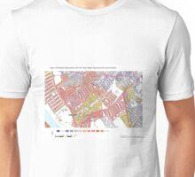 Multiple Deprivation Town ward, Hammersmith & Fulham Unisex T-Shirt