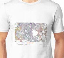 Multiple Deprivation Tulse Hill ward, Lambeth Unisex T-Shirt