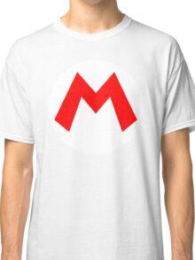 Mario Emblem Classic T-Shirt