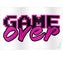 GAME OVER (Sexy) Poster