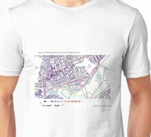 Multiple Deprivation Victoria ward, Hackney Unisex T-Shirt