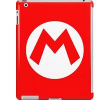 Mario Emblem (hollow) iPad Case/Skin