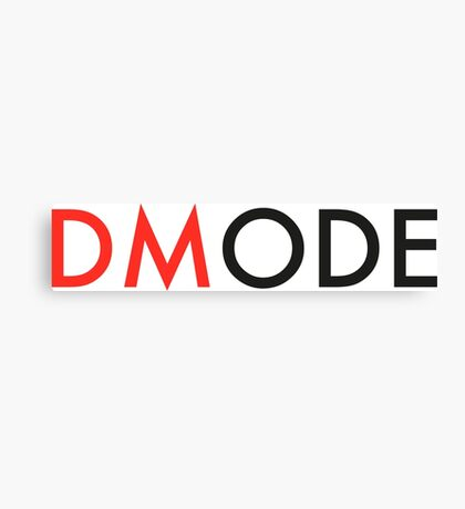 DMODE DM Canvas Print
