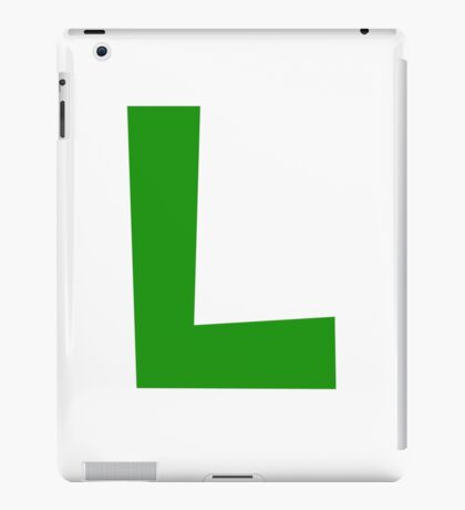 Luigi Emblem iPad Case/Skin