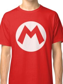 Mario Emblem (hollow) Classic T-Shirt