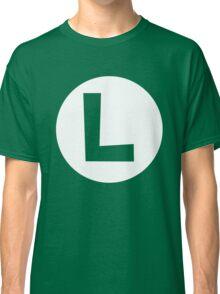Luigi Emblem (hollow) Classic T-Shirt