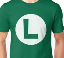 Luigi Emblem (hollow) Unisex T-Shirt