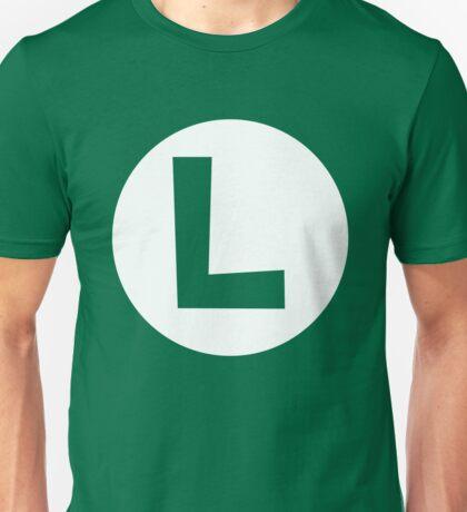Luigi Emblem (hollow) Unisex T-Shirt