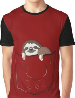 Sloth in a pocket Graphic T-Shirt