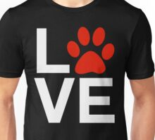 Love Dogs and/or Cats Unisex T-Shirt