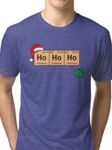 Chemistry Christmas Tri-blend T-Shirt