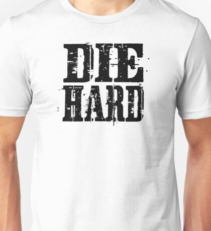 die hard classic hollywood movies movie film acton t shirts Unisex T-Shirt