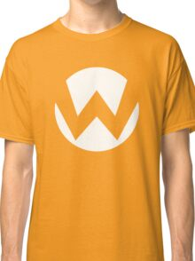 Wario Emblem (hollow) Classic T-Shirt