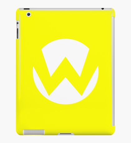 Wario Emblem (hollow) iPad Case/Skin