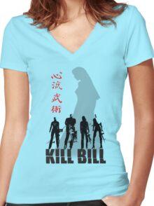 Kill Bill Women's Fitted V-Neck T-Shirt