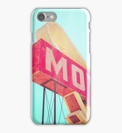 Vintage Americana Motel Sign iPhone Case/Skin