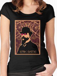 Erik Satie's Purple Dream Women's Fitted Scoop T-Shirt