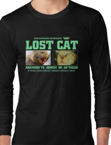 Lost Cat : Inspired by Alien Long Sleeve T-Shirt