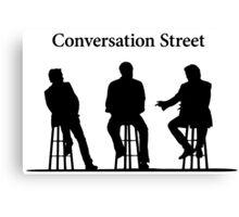 Conversation Street - The Grand Tour Canvas Print