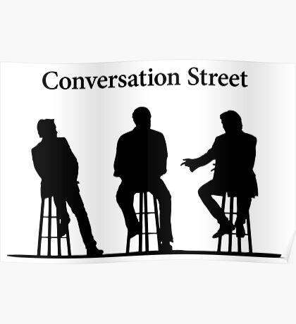 Conversation Street - The Grand Tour Poster
