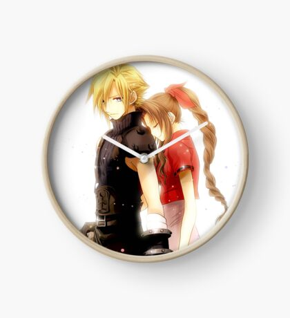 Cloud & Aerith Clock