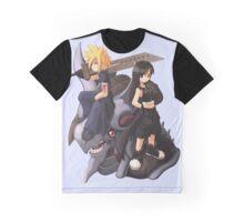 Cloud & Tifa Graphic T-Shirt