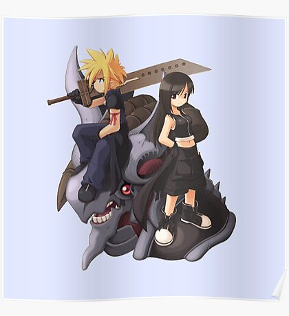 Cloud & Tifa Poster