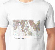 Multiple Deprivation Wandsworth Common ward, Wandsworth Unisex T-Shirt