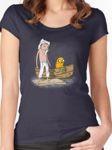 Life of Finn Women's Fitted Scoop T-Shirt