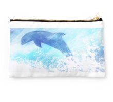 Happy Dolphin Twin Duvet Studio Pouch