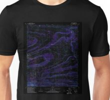USGS TOPO Map Arkansas AR Abbott 257835 1987 24000 Inverted Unisex T-Shirt