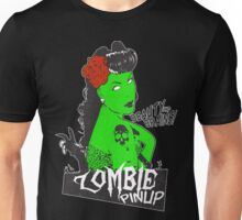 Zombie Rockabilly Pinup Unisex T-Shirt