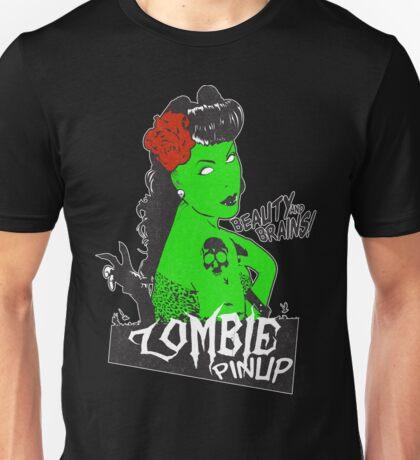 Zombie Rockabilly Pinup Unisex T-Shirt
