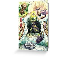 The Magician's Quest Greeting Card