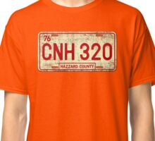 Dukes of Hazzard - General Lee License Plate Classic T-Shirt