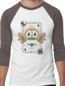 Rowlet Men's Baseball ¾ T-Shirt