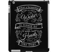 What a beautiful World     iPad Case/Skin