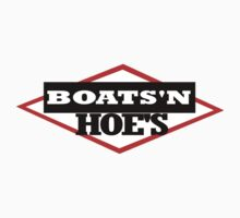 BOATS N HOES - step brothers tribute T-Shirt