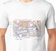 Multiple Deprivation West Hampstead ward, Camden Unisex T-Shirt